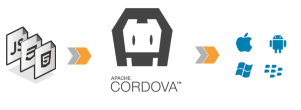 hybrid cordova application
